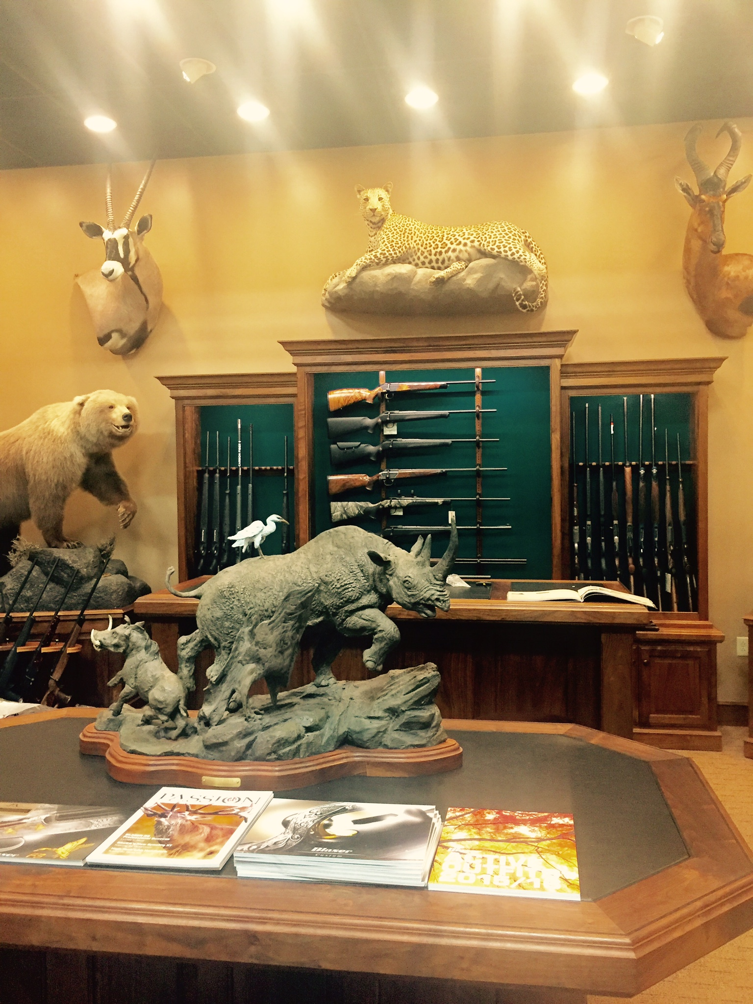 Inside Marco Polo Outfitters - not a bad place to spend the day!