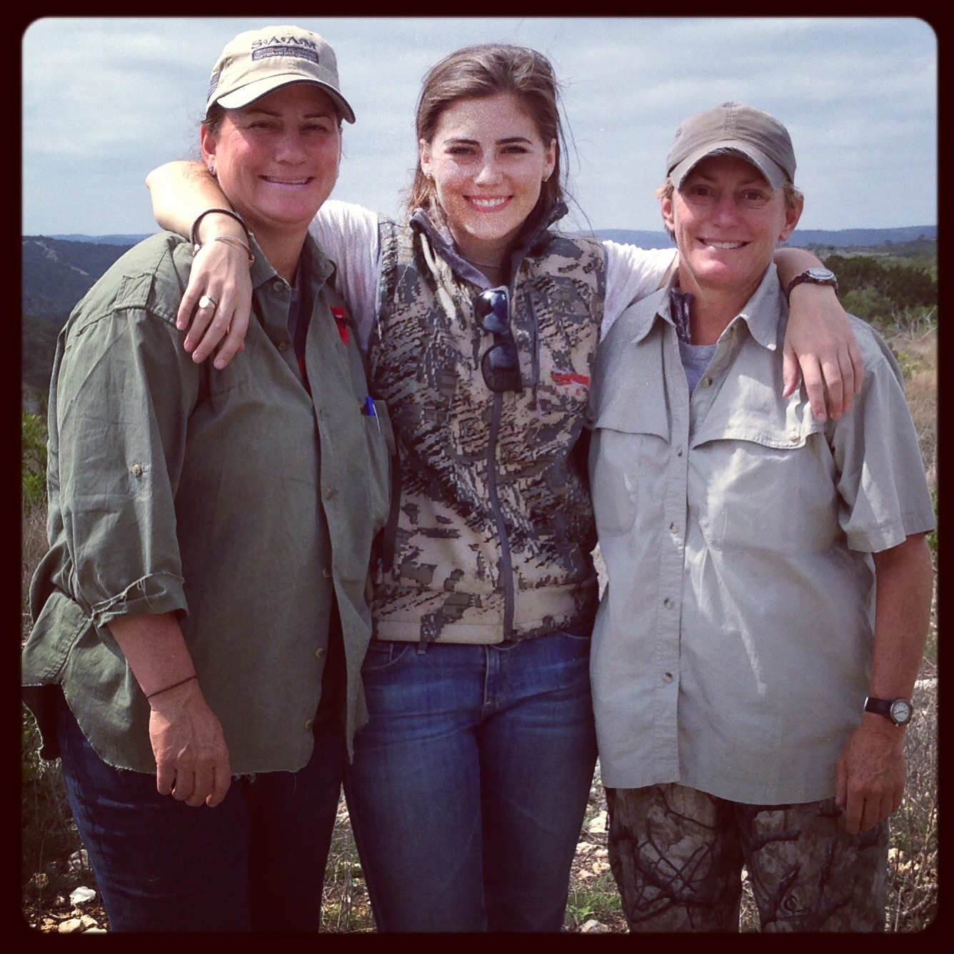 TBT to SAAM shooting school with my Mom and aunt a few years ago.